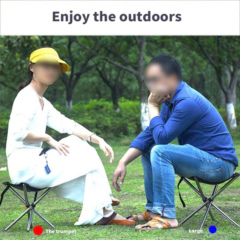 Silla de pescar al aire libre, taburete telescópico portátil, silla plegable, silla de Camping, Picnic, jardín, silla de playa plegable