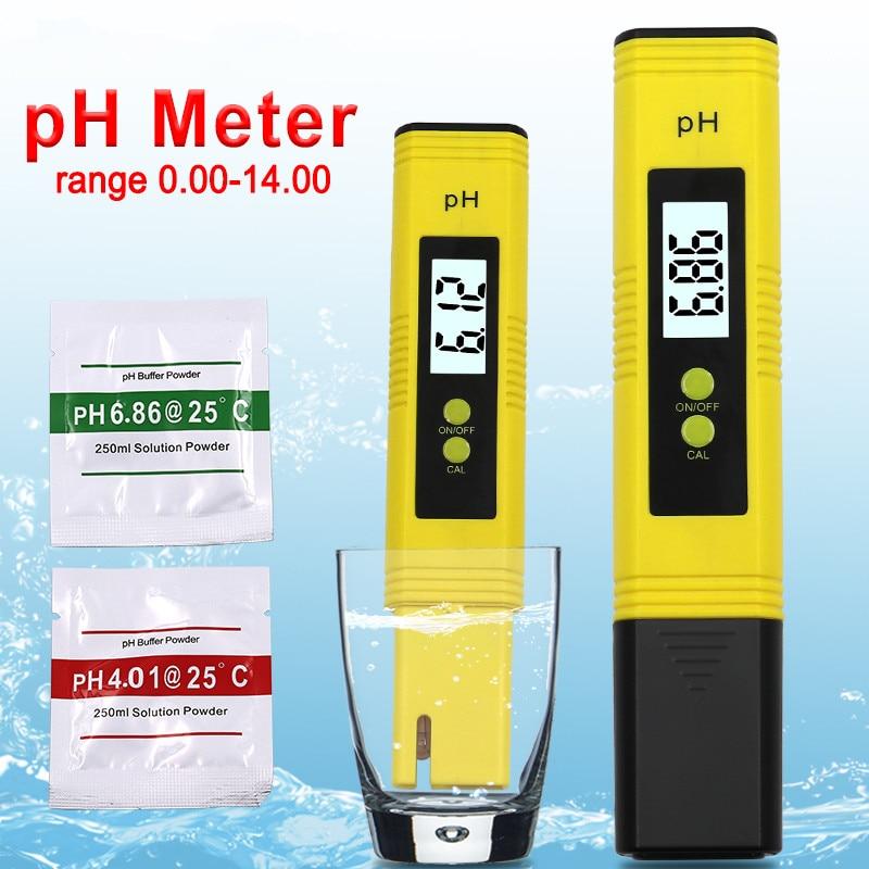High Precision Drinking Water Water Quality Tester Test Pen Digital Ph Meter Tester pocket vibrometer pen type vibration meter tester gauge analyzer measure precision sensitivity accelerometers smartsensor as63d