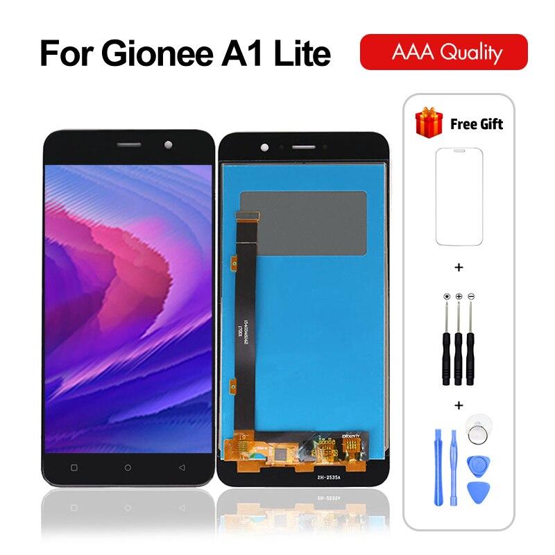 Для Gionee A1 Lite ЖК-дисплей сенсорный экран в сборе дигитайзер сенсор для Gionee A1 Lite экран ЖК-дисплей с подарками