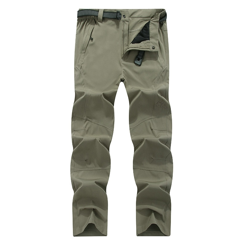 Summer Outdoor Men Sport Quick-Drying Waterproof Casual Stretch Pants Breathable Sunscreen Camping Hiking Fishing Tactical 2019 new summer ultra thin skin sports outdoor women s quick drying sunscreen waterproof breathable air conditioning jacket