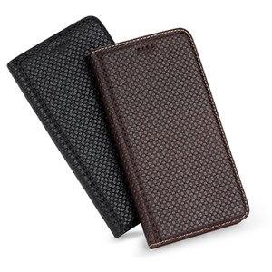 Luxury Genuine Leather Flip Case Cover Card Slot For Samsung Galaxy S21 Plus/Galaxy S21 Ultra/Galaxy S21 Flip Phone Cover Funda