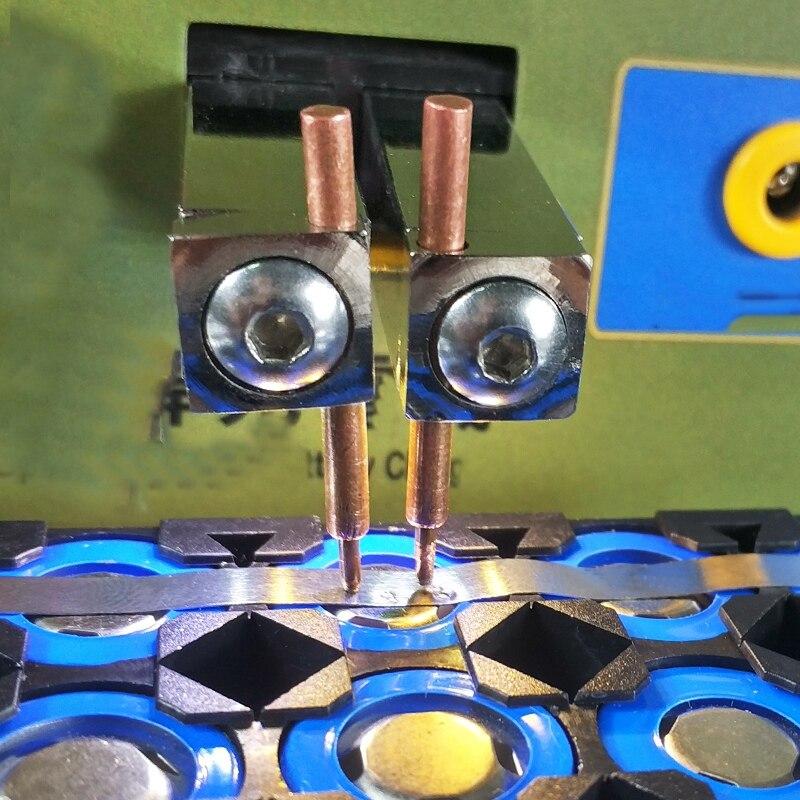 Agujas fijas de cobre para soldar soldador por puntos de 4 Uds. Usadas para máquina de soldadura por puntos 737G 787A 788H 709A 709Ad 797Dh