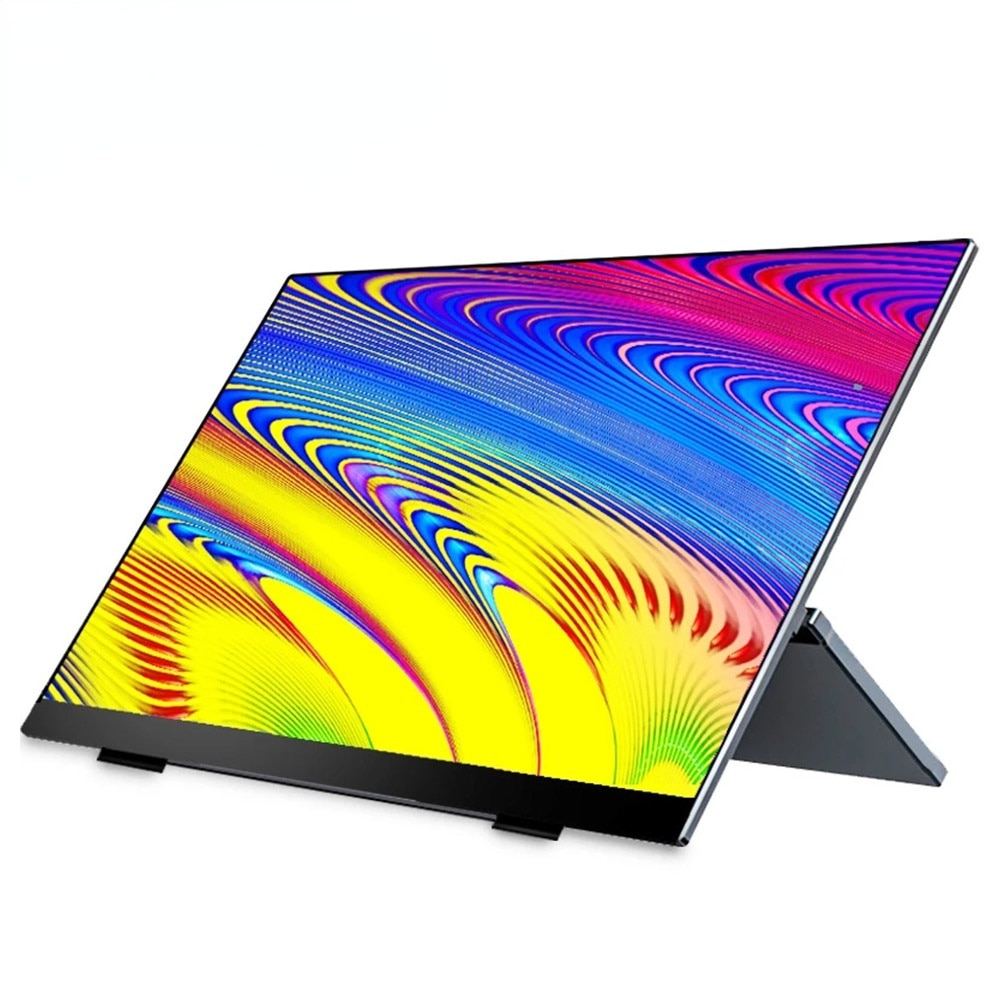 14inch Portable Monitor Touch Screen Ips  Lcd Monitors Display Usb C Hdmi  for Ps4 Xiaomi Huawei Switch Xbox One Laptop Phone