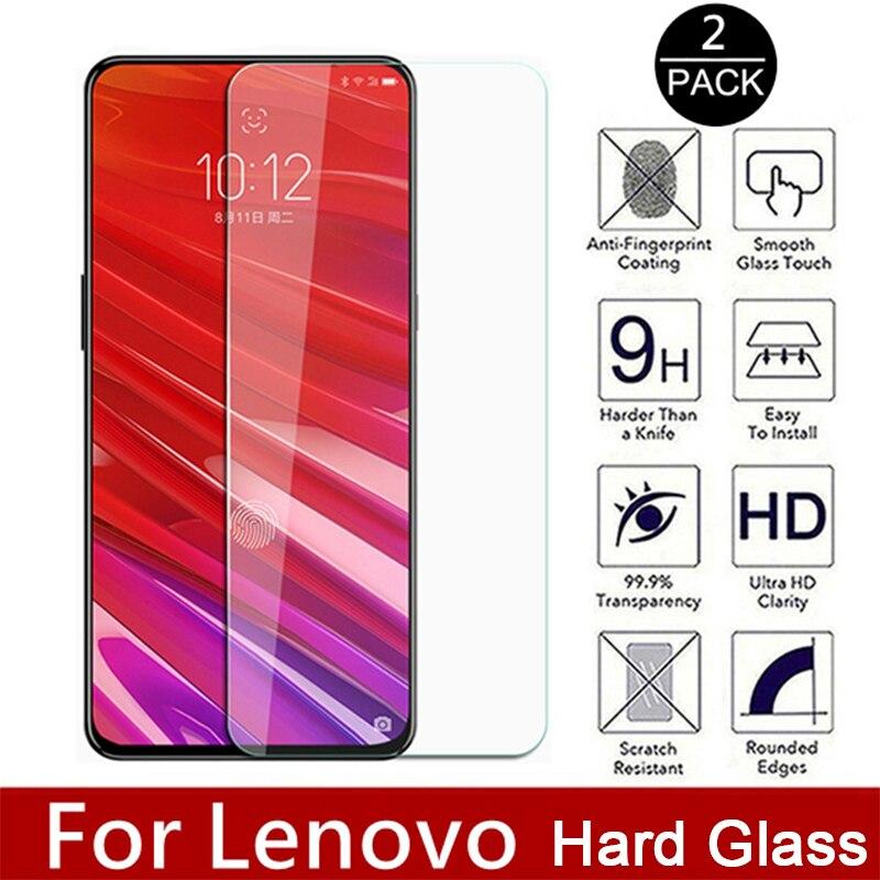 2 шт. Защитное стекло для Vibe K5 Note Plus X2 закаленное стекло для Lenovo Z5 Z6 Pro Youth Z5S 2.5D Movie Knockproof Hard