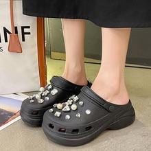 Designer 2021 Sandals Summer Women Platform Shoes Luxury Woman Mules Female Casual Slippers Fashion