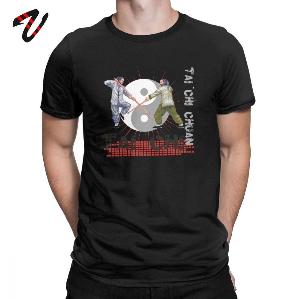 Китайские футболки тайчи Чуань, Мужская футболка новейшего дизайна из 100% хлопка, футболки в китайском стиле с коротким рукавом, лучшая идея для подарка, одежда на заказ|Футболки| | АлиЭкспресс