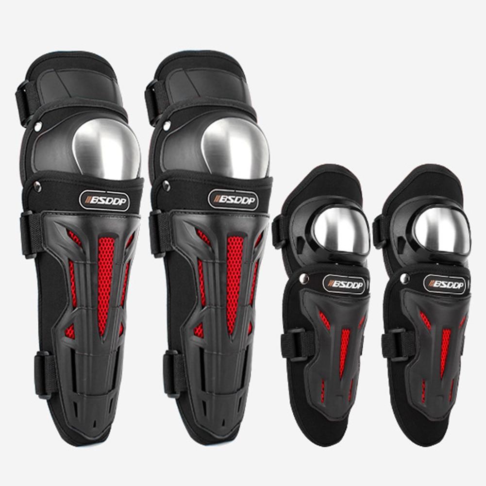 4PCS/Set Motorcycle Knee Elbow EVA Protector Knee Sliders Motosiklet Knee Protective Gear Protector Guards Kit enlarge