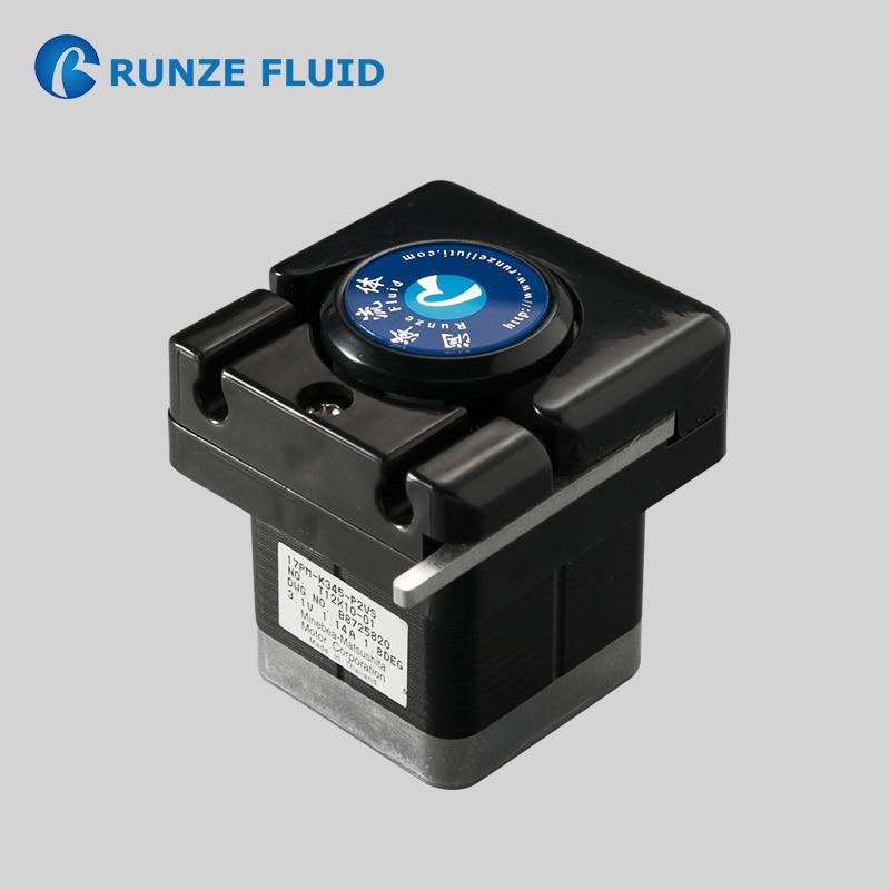 مضخة عمل عالية الدقة 24 فولت ، قياس درجة الحموضة ، معدل تدفق منخفض ، جرعات حمض قلوية ، سهولة التحكم