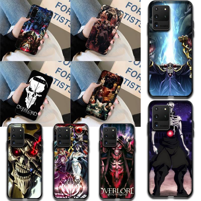 NBDRUICAI Overlord 2 TPU funda de silicona suave para teléfono Samsung S20 plus Ultra S7 S6 edge S8 S9 plus S10 5G