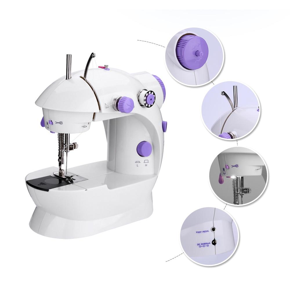 Máquina de coser portátil máquina de coser doméstica máquina de coser máquina...