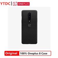 100% new Original Official Oneplus 8 Fiber Full Cover Case OnePlus 8 Case for Oneplus 8 phone
