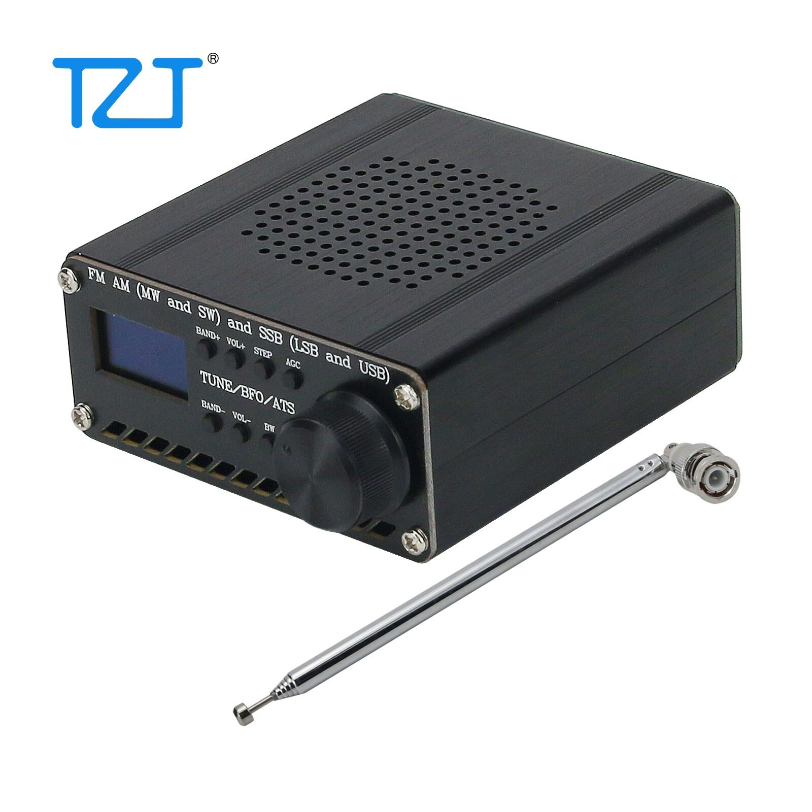 Assembled SI4735 SI4732 All Band Radio Receiver FM AM (MW & SW) SSB (LSB & USB) with lithium battery