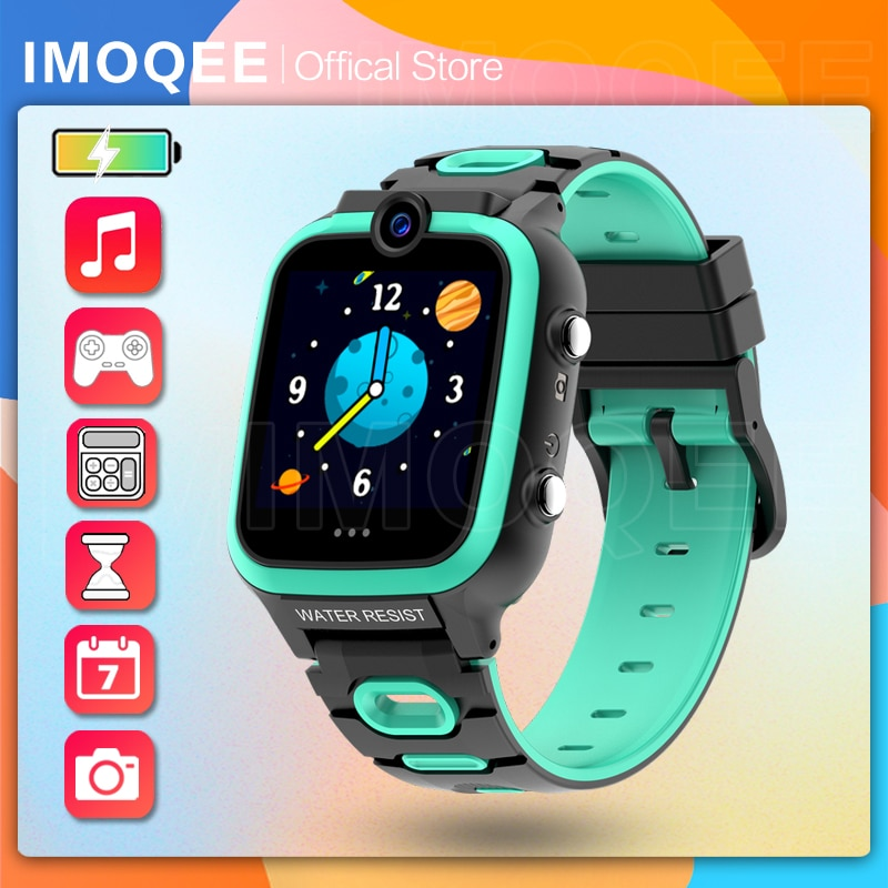 Smart Watch Kids Music MP3 Player Multiple Video and Photo Educational Games Pedometer Children Gift