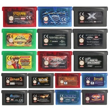 32 бит видео игровая консоль карты Rayman серии (версия ЕС) Для Nintendo GBA