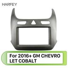 Harfey-coque de lautoradio 2 Din   De haute qualité, montage en 2016 2017 GM COBALT, cadre dinstallation du panneau de bord de style OEM