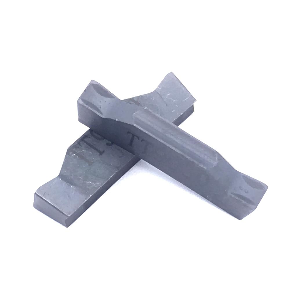 Sale 10PCS TDC3 TT9030 Grooving Carbide Inserts Turning Tools Cutting Lathe CNC Tools Lathe Cutter enlarge