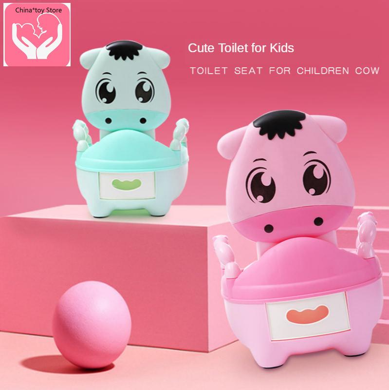 Cartoon Children's Toilet Soft Seat Toilet Men and Women Baby Child Baby Infant Potty Urinal Drawer Oversized Toilet