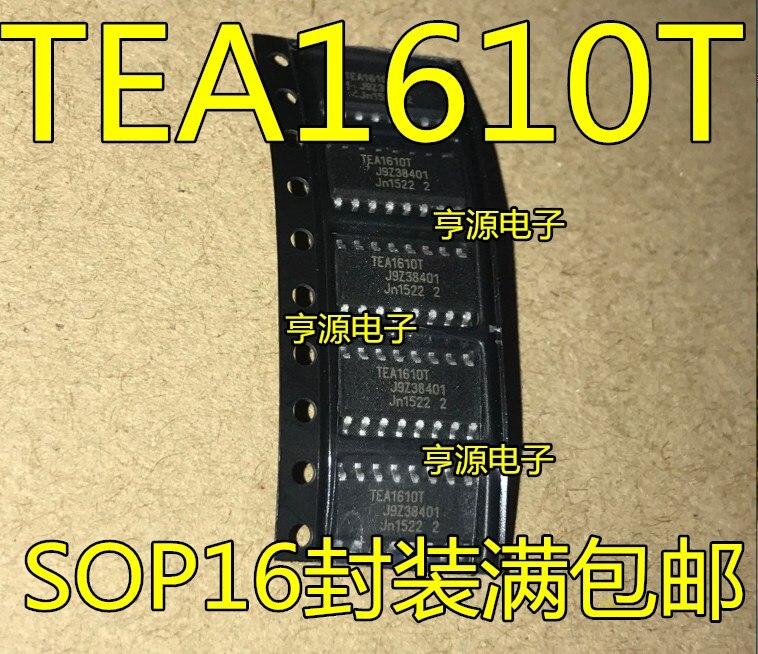 5 uds. TEA1610 TEA1610T parche de gestión de energía Chip nuevo y Original de buena calidad