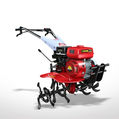 Cultivador diésel de campo de arroz, cultivador rotativo de doble propósito, tractor para caminar
