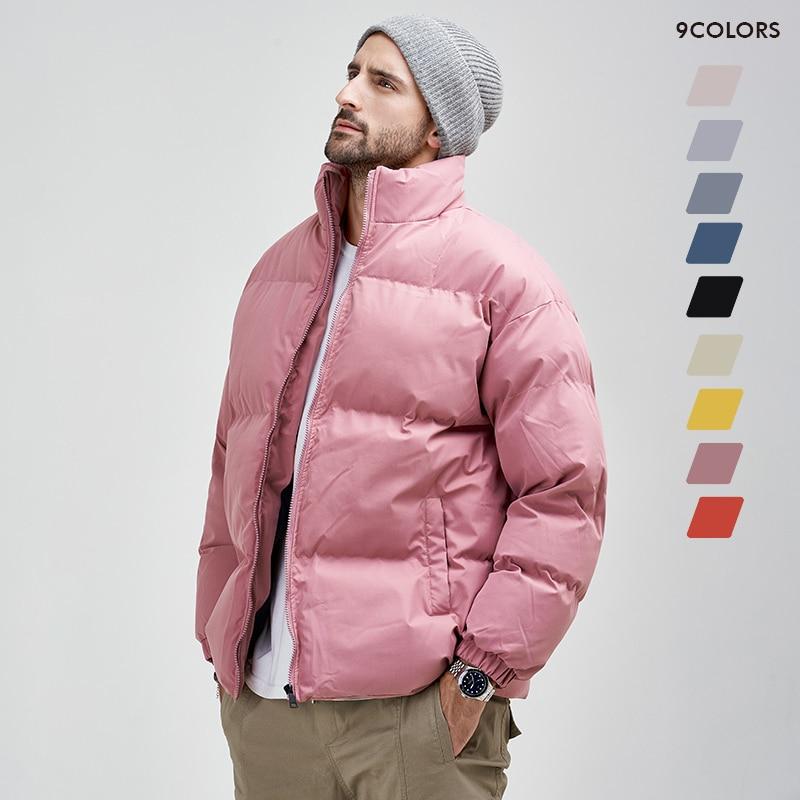 Men Winter Padded Jacket Keep Warm Thicken Coat 8XL 2021 Winter New High Street All-match Hip Hop Lo