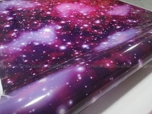 Galaxy Vinyl Wrap Stickerbomb Starry Sky Vinyl Car Wrap Film Sticker Bomb Decal With Air Release 1.52X30M/Roll 5x98ft
