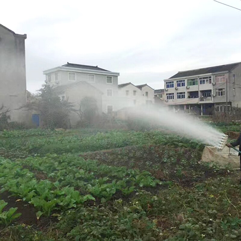 Boquilla de agua de 1 pulgada, 1,2 pulgadas, 1,5 pulgadas, para motor de gasolina, boquilla de plástico, riego atomizado, Boquilla de gran flujo, aspersor agrícola