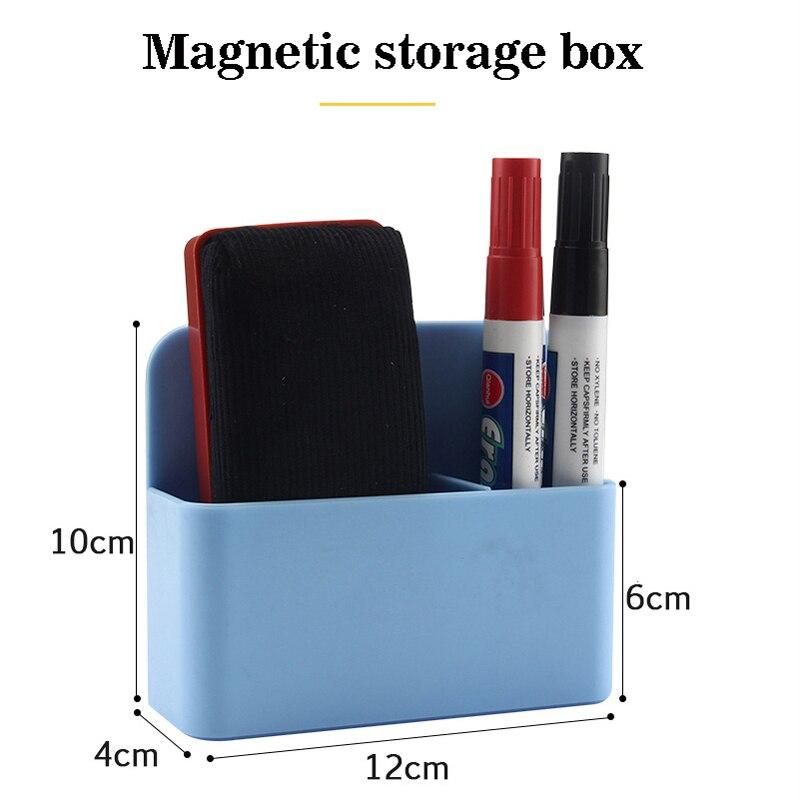 Магнитный органайзер для коробка для хранения канцтоваров на холодильник, Настольный органайзер для канцелярских принадлежностей, маркер...