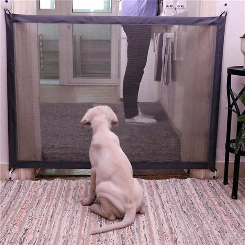 كلب بوابة السياج الآمن الحرس السلامة الضميمة الكلب الأسوار الكلب بوابة شبكة بارعة ماجيك Pet بوابة مستلزمات الحيوانات الأليفة دروبشيبينغ