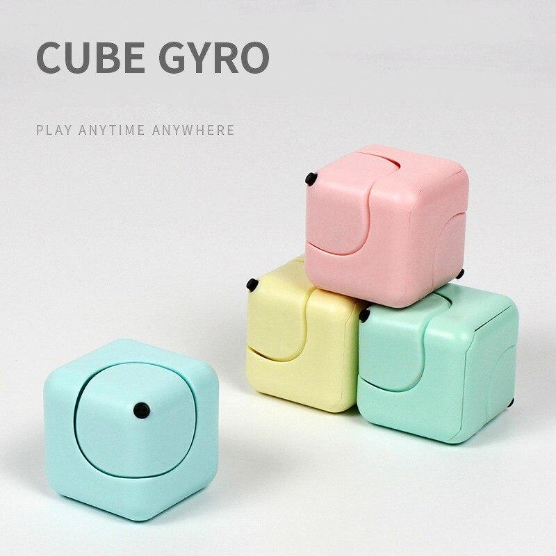 Cubo y juguetes para aliviar el estrés de la ansiedad y la ansiedad ABS famoso