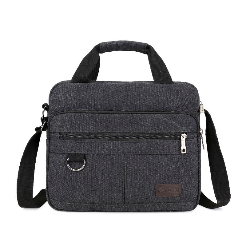 الرجال قماش عادية حقيبة كروسبودي للمدرسة دائم حقيبة ساع التسوق الخفيفة حقائب كتف السفر