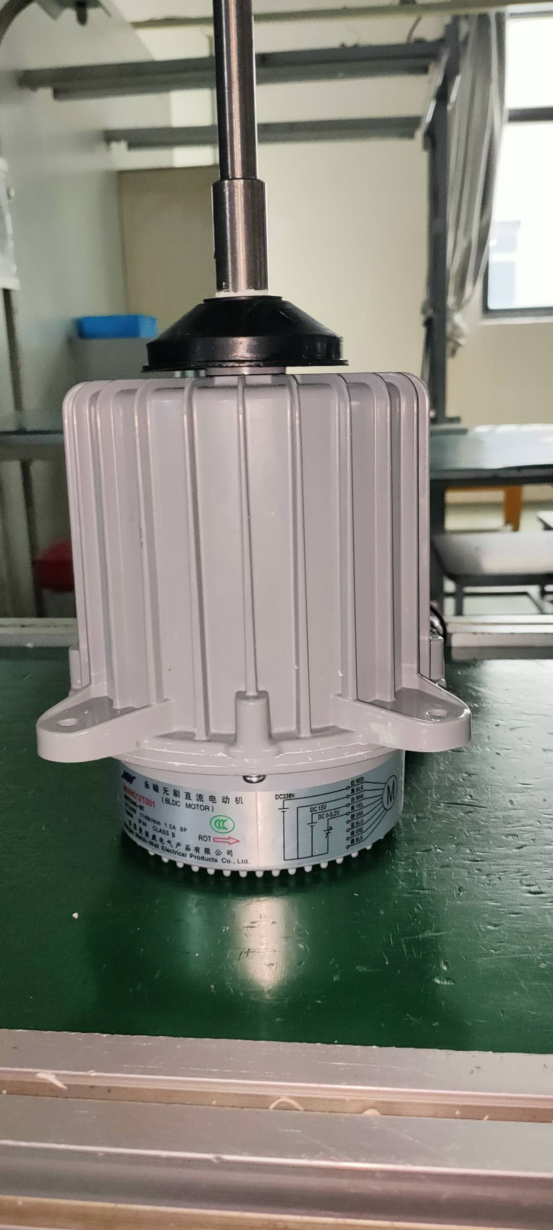 MWS Series Brushless DC Motors enlarge