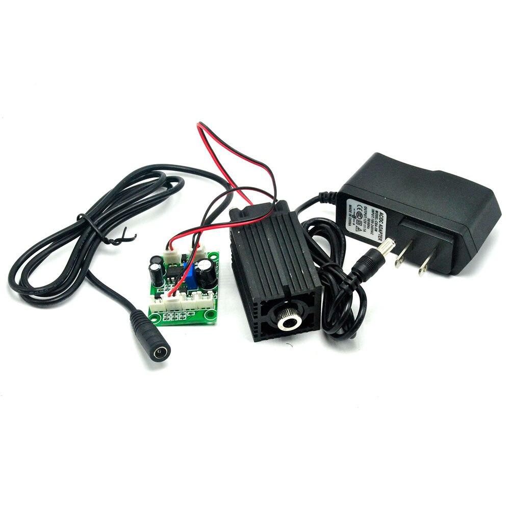 405 нм 350 мВт фокусировка синий фиолетовый лазер модуль с TTL управление лазер трубка диод