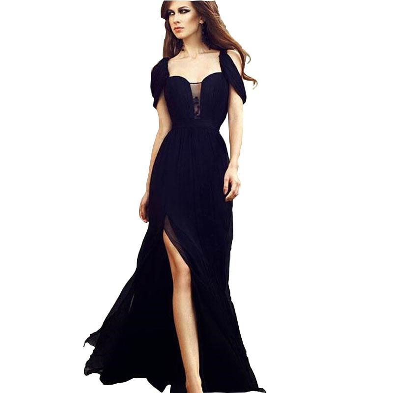 Evening Dresses Long Luxury The New 2021 Hollow Out  Strapless  Floor-Length  Summer Sexy Dress Temperament Long Skirt