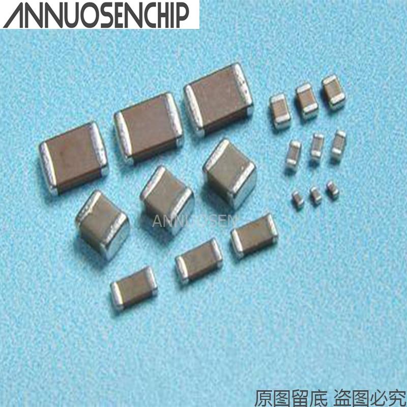 100 Uds 1206, 104K 100NF 0,1 UF 400V 450V 500V X7R chip SMD condensador de cerámica