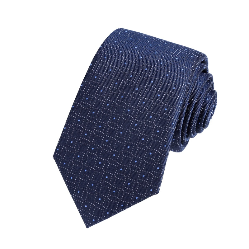 Silk Necktie Business Men's Banquet Yarn-Dyed Jacquard  Mulberry
