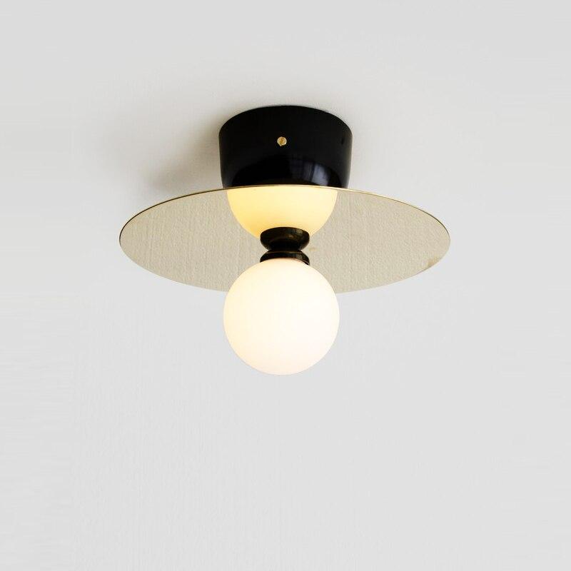 Nordic areti wall lamp loft simple modern creative personality living room bedroom aisle light study ball wall lamp