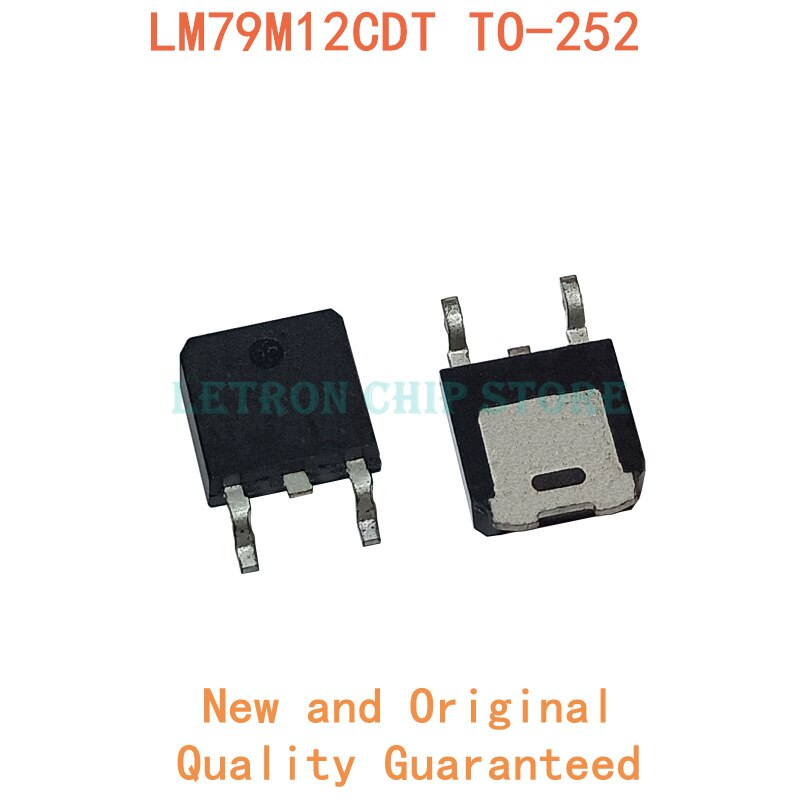 10 pces l79m12cdt to252 l79m12 to-252 79m12 dpak L79M12CDT-TR original e novo ic