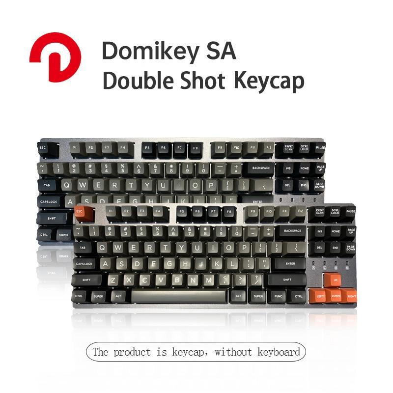 Domikey SA الشخصي DOLCH مزدوجة النار ABS كيكابس ل MX التبديل الميكانيكية الألعاب لوحة المفاتيح مجموعة 158 كيكابس