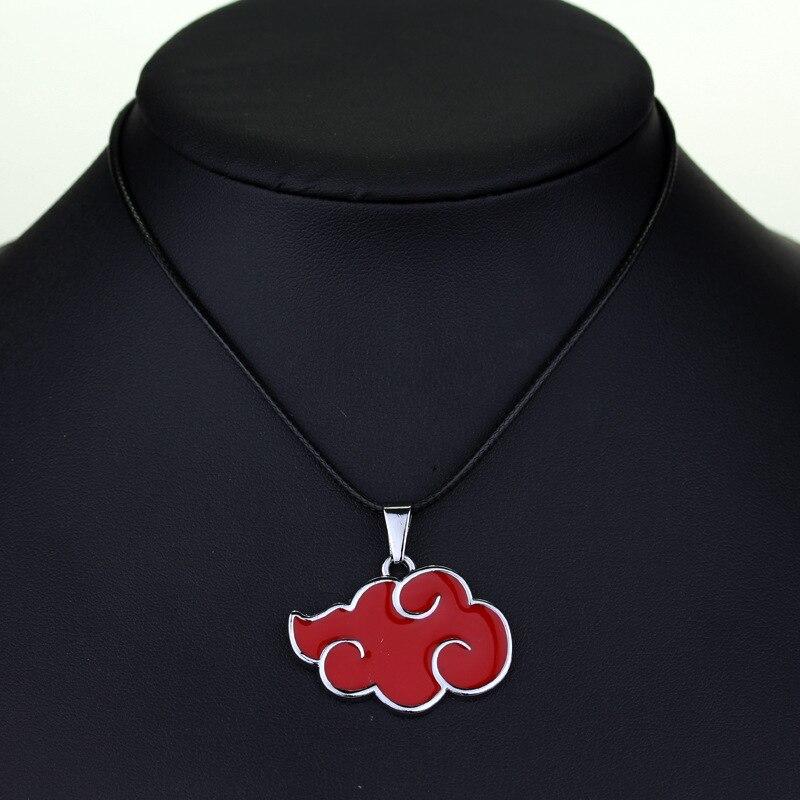 Аниме ниндзя Шаринган Ожерелье Акацуки косплей индивидуальные ювелирные изделия брелок Подвеска фотография Хэллоуин