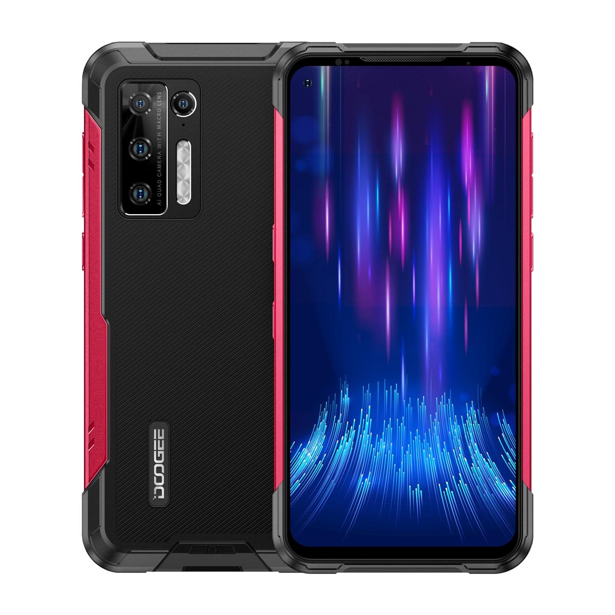 DOOGEE S97 Pro Cellphone 8GB+128GB 48MP AI Quad Camera Smartphone 40m Laser Rangefinder Helio G95 Octa Core Mobile Phone