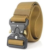 military equipment knock off army belt mens heavy duty us soldier combat tactical belts sturdy 100 nylon waistband 4 5cm