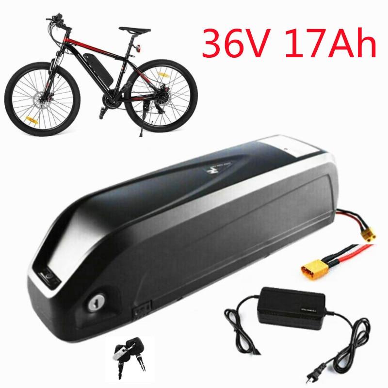 Paquete de batería de bicicleta eléctrica, Kit de Motor de buje trasero...