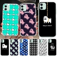 game undertale annoying dog black tpu soft phone case cover for iphone 11 pro xs max 8 7 6 6s plus x 5s se 2020 xr cover