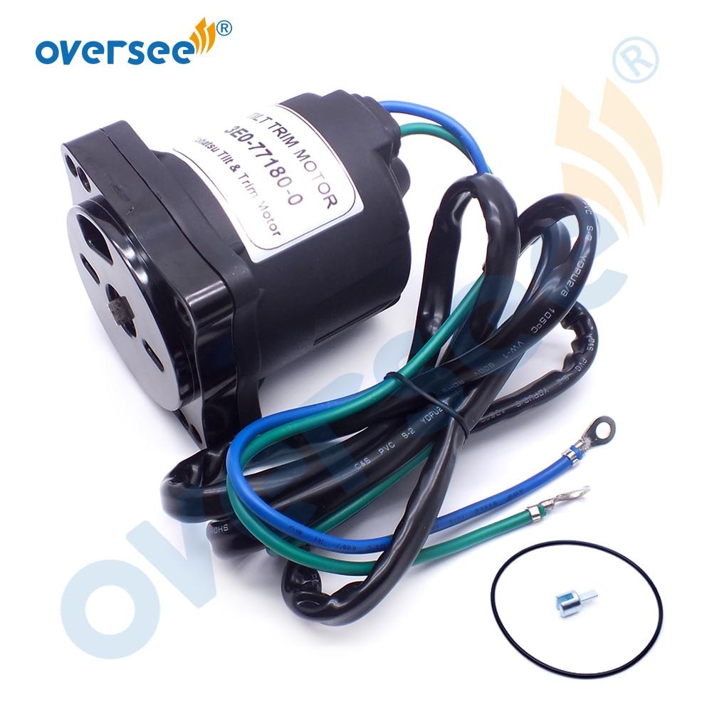 3E0-77180 наклона отделка мотор для TOHATSU подвесные моторы Запчасти 4T 60-140HP 3E0-77180-0 3E0771800 2 провода