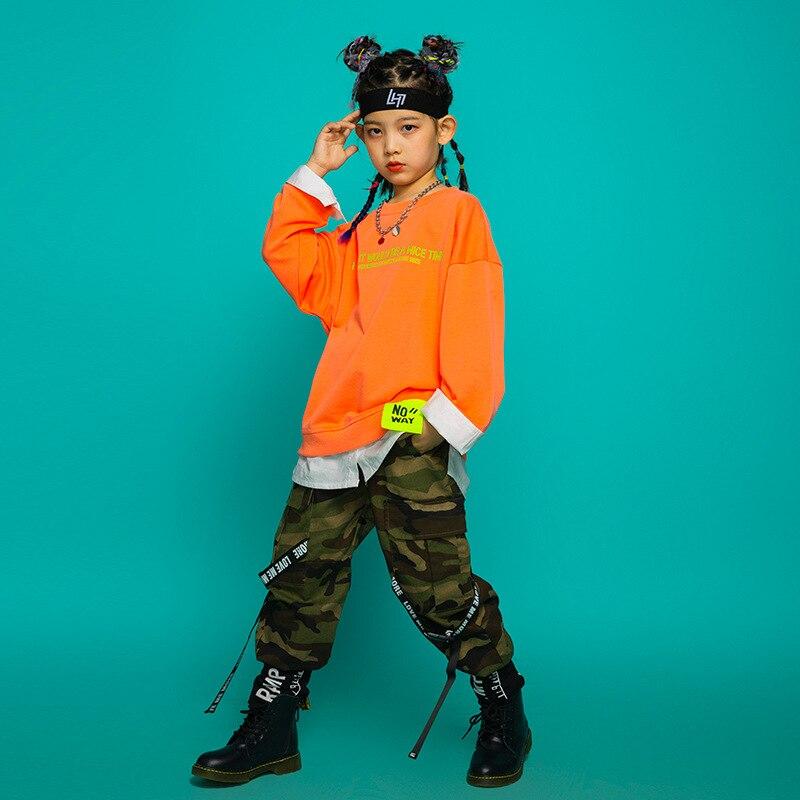 Niños prendas de hip-hop ropa deportiva top ropa de calle de Camuflaje...