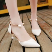 2020 new women sandals strappy heels sandals slippers women high heels flip flops pointed toe slides party shoes woman nvlx50