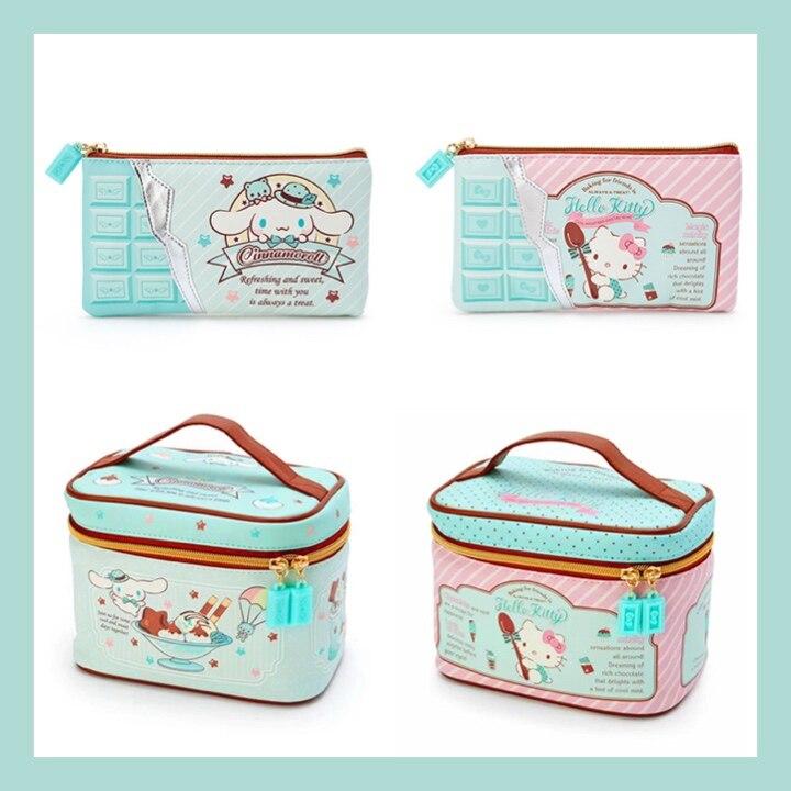 Sanrio, Hello Kitty косметиoroll косметичка с героями мультфильмов Водонепроницаемый портативный дорожный мешок для мытья хранения косметики коробка сумка органайзер