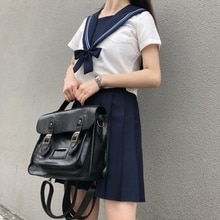 2020 new college style retro women's bag single shoulder straddle bag women's handbag double shoulde