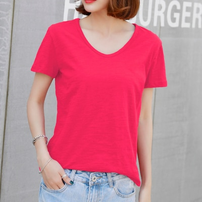Camiseta azul de moda de verano 2020 para mujer, camiseta lvory sky