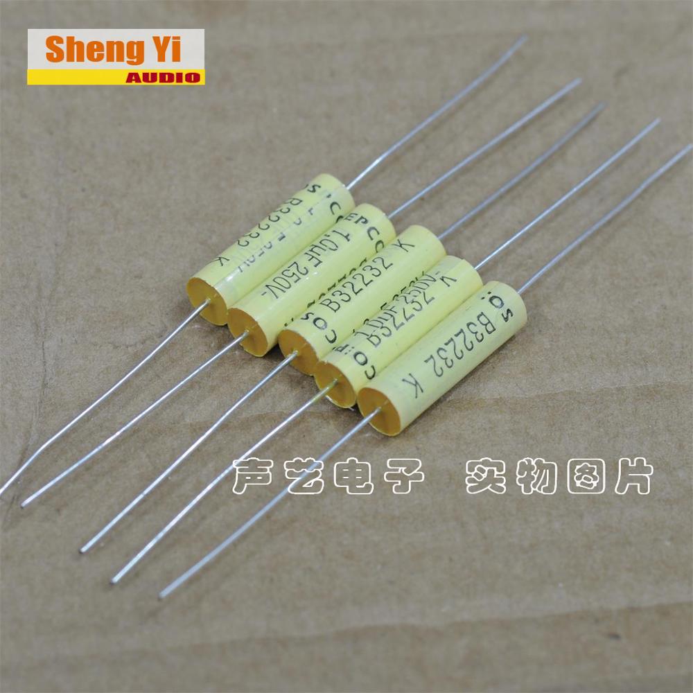 2 uds envío gratis EPCOS B32232 K prometo película acoplamiento condensador 1,0 UF 105 250V 10% 1UF